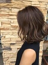 ソラ ヘアデザイン(Sora Hair Design)ナチュラル大人セミディ