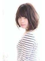 ヘアーデザイン リント(hair design Rinto)【大人女性ボブ】オーガニックパーマ&グレージュインナーカラー
