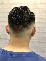 グレイスフル バーバープラチナム 六本木店(Graceful Barber platinum)【理容室】【バーバースタイル】七三 スキンフェード