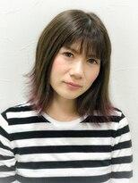 ヘアーアンドリラックス スウィート(Hair&Relax SWEET)裾カラー/SWEET/星野知美