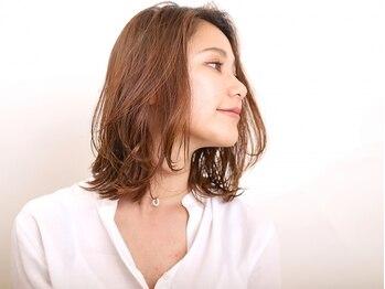 アミィヘアー アネックス(Ami Hair annex)の写真/【髪質改善】カットでも髪質が変わる!一人ひとりのクセや毛流れを活かしあなたに似合うスタイルを提案◎
