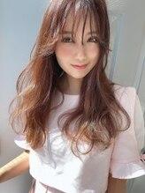 フレイス(FRAIS HAIR)☆シースルーフェザーバングのモテ髪ロング☆