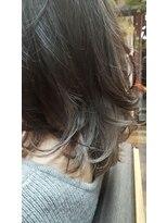 コレット ヘアー 大通(Colette hair)インナーカラー×グラデーション×ホワイトベージュ