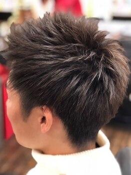 ヘアーリメイクラウム(HAIR REMAKE RAUM)の写真/ONもOFFも決まるスタイルと絶大な支持★出来るサラリーマンが通うサロン