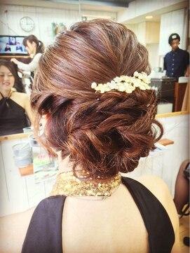 ダブルビー 美容室 白金店(WB) ヘアセット 結婚式、入学式、