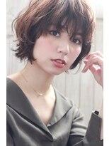 mowen☆オン眉xデザインカラーxマッシュウルフx切りっしなしボブ