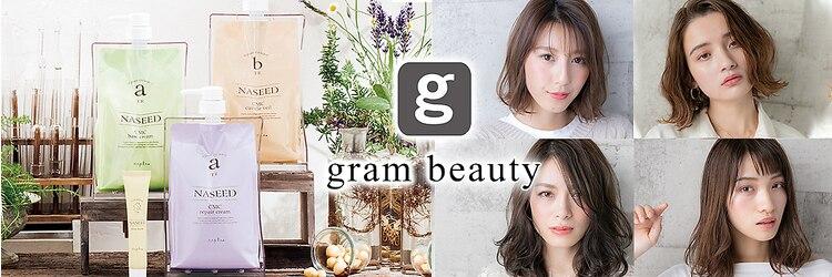 グラムビューティー 足利(gram beauty)のサロンヘッダー