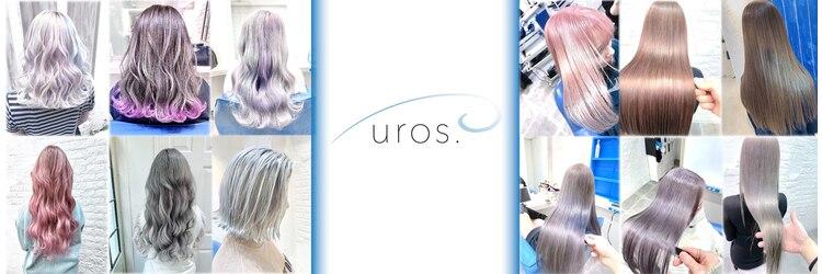 ウーロス(uros.)のサロンヘッダー