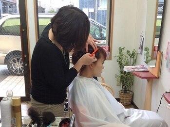 コットン(HAIR&MAKE cotton)の写真/《女性スタッフのみ在籍》髪だけじゃない、身体の内側からも綺麗になれる自分磨きの至福の時間!
