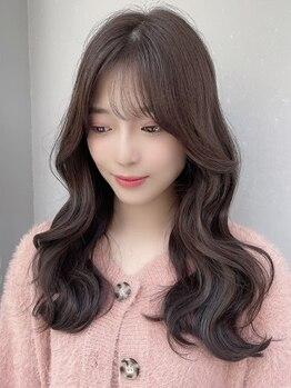 ジェニー ハラジュク(geny harajuku)の写真/学割U24カット&カラー【¥10400→¥4580】韓国人風になりたい子達に人気!BGMもK-POPが楽しい♪