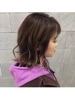 ヘアメイク アプト コンビネーション(HAIR MAKE apt combination)大人ピンク!