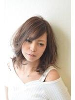 ヘアー ワンアビル(Hair One Abile)艶透明感☆ひし形シルエット小顔ミディボブ