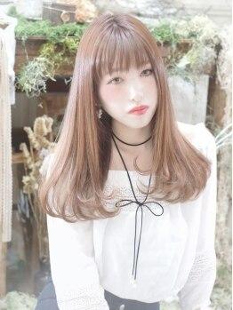 ヘアーアンドスパ リルト(Hair&Spa Lilt.)の写真/今話題のM3Dピコトリートメント配合【Lilt.ピコカラー】がオススメ。今までにない、艶ツヤに輝く美髪に☆