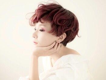 エメリヘアー(Emeli Hair)の写真/《大人気》イルミナ&アディクシー取扱い♪ダメージ90%cutのケアブリーチ&炭酸ホイップで透明感と艶をプラス