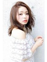 ラフィス ヘアーピュール 梅田茶屋町店(La fith hair pur)【La fith】ミディアムうる艶ヘアー