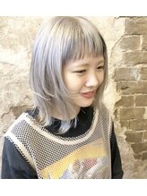 マギーヘア(magiy hair)ホワイトミルクティー[magiyhair西部笑]