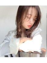 ミンクス 青山店(MINX)くびれレイヤーミディアム 表参道 髪質改善アルティストカラー