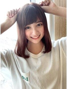 髪型 小坂 菜緒