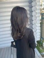クレエ ヘアー デザイン(creer hair design)シルバーグレージュ