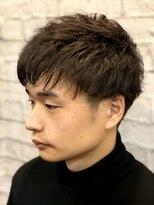 グレイスフル バーバープラチナム 六本木店(Graceful Barber platinum)【理容室】マッシュ × 刈り上げ