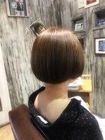 ナナナパレナ 心斎橋店(nanana parena)髪質改善専門サロンの縮毛矯正で圧巻の艶髪ストレートボブ