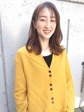 女性新規指名No,1!!幅広い層からの信頼を勝ち取るLOVEST青山唯一の女性スタイリスト!!