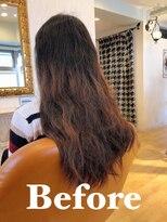 【髪質改善】プルプルストレートヘア