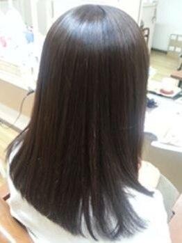 エクセル(excel)の写真/【髪質改善トリートメント】オーナーが厳選した髪に優しい薬剤を使用!ダメージを最小限に美髪を叶える★