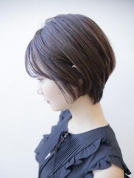 ル ジャルダン 塚口店(Le JARDIN)の写真/【塚口駅1分/Le JARDIN】髪質,クセ,頭の形を見極め、どの角度から見ても綺麗なフォルムを創りあげます。