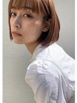 カムジーヘッド(COMEGHEAD)抜け感ボブ【髪質改善/ヘッドスパ/ショート/ショートカット】