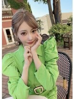 ルイス(L'wis)silky chai beige☆上條誠