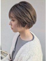 【JUNO】マッシュショート ハイライト グラデーションカラー
