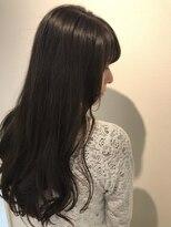 ヘアーリゾートラシックアールプラス(hair resort lachiq R+)《R+》ラベンダーグレー☆ロングワンレン