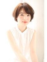 【joemi 新宿】小顔カット 丸みショートボブ(大島幸司)