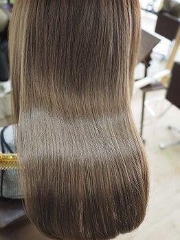 """リリーズ ヘア(Lily's Hair)の写真/【全MENU""""炭酸泉""""付☆】驚異の補修力!ボロボロのハイダメージ毛もお任せ◎本格髪質改善ならLily's Hair*"""