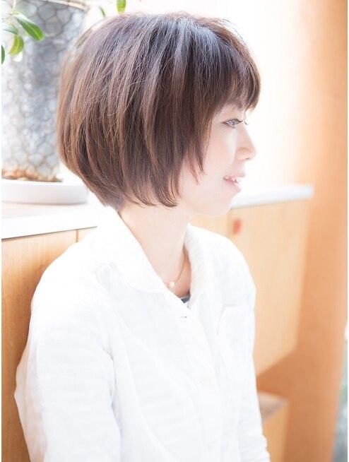 デザインプロデュース ルームヘア 笹塚店(DESIGN PRODUCE Room hair)美シルエット大人ボブ【笹塚】