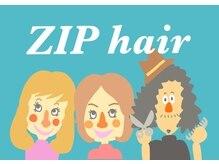 ジップ ヘアー(ZIP hair)