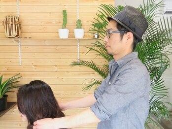 スキーム ヘア デザイン(Scheme hair design)の写真/ゆったり寛げる空間をおもてなし。気を遣わずに過ごせるのも◎リピート率の高さはカウンセリング力にあり!