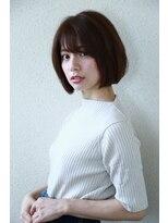 モード ケイズ 塚本店(MODE K's)小顔ゆるっぽボブあごの長さショートヘア