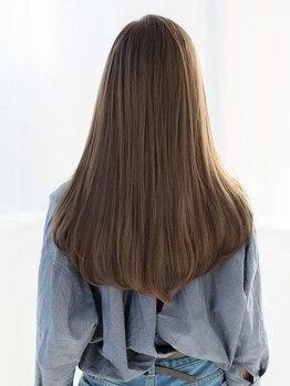エーグランツ(a-granz)の写真/話題の水素トリートメントで美髪を手に入れよう◎経験豊富なスタイリストが髪質に合わせてご提案♪