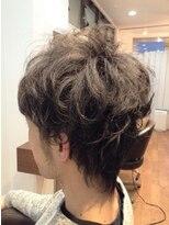 ヘア ルシェ(hair ruscha)【ヘアルシェ】30代メンズおすすめ♪アシメツーブロックパーマ