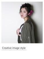 【Creative image styel】リボンカチューシャが可愛いアレンジ