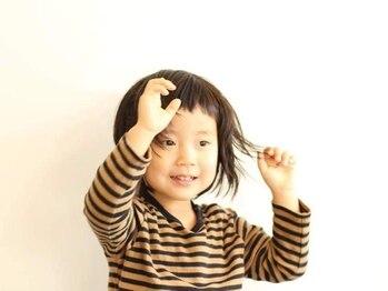 レユニオン(reunion hair)の写真/【駐車場3台完備】パパもママもお子様も♪家族みんなで通いたくなる雰囲気とお手入れ簡単スタイルが魅力☆