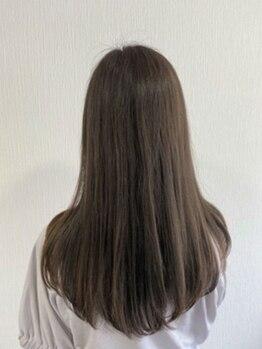 アモンド(Amonde)の写真/髪を薬剤から守ってくれる【CMCカラー】でオシャレ染め♪ダメージレスなので髪の芯まで潤う艶のある髪に!!