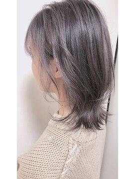 ヘアードットツミキ(HAIR.TSUMIKI)グレーアッシュ!