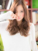 """*+COVER HAIR+*…フリルみたいな♪…""""くびれカールロング""""c"""
