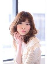 ヘアーアンドビューティストーリア 蒲田店(hair beauty STORIA)【STORIA蒲田店】ふわくしゃミディ