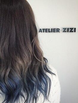 アトリエ ジジ(atelier ZiZi)の写真/定番グラデーションカラーもZiZiなら周りと差がつくスタイルに☆話題の処理剤【OLAPLEX】でさらに美髪に♪
