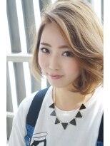 ヘアサロンエムピーズ イケブクロ(HAIR SALON M P's 池袋)【M/KOOL】重×軽ふんわりBob☆