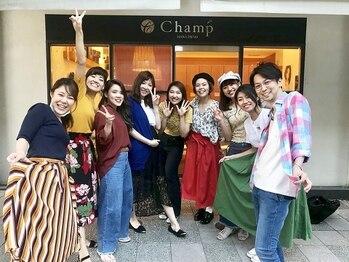 チャンプ 花園店(Champ)の写真/気さくな女性スタッフ多数☆丁寧なカウンセリングであなただけの「キレイ」を全力でサポートします♪